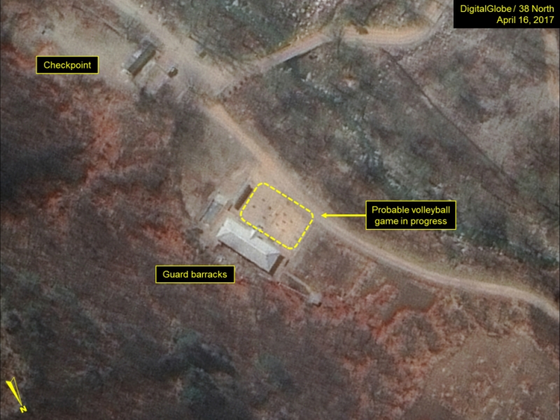 Подготовка кпроведению нового ядерного тестирования вКНДР переведена врежим ожидания