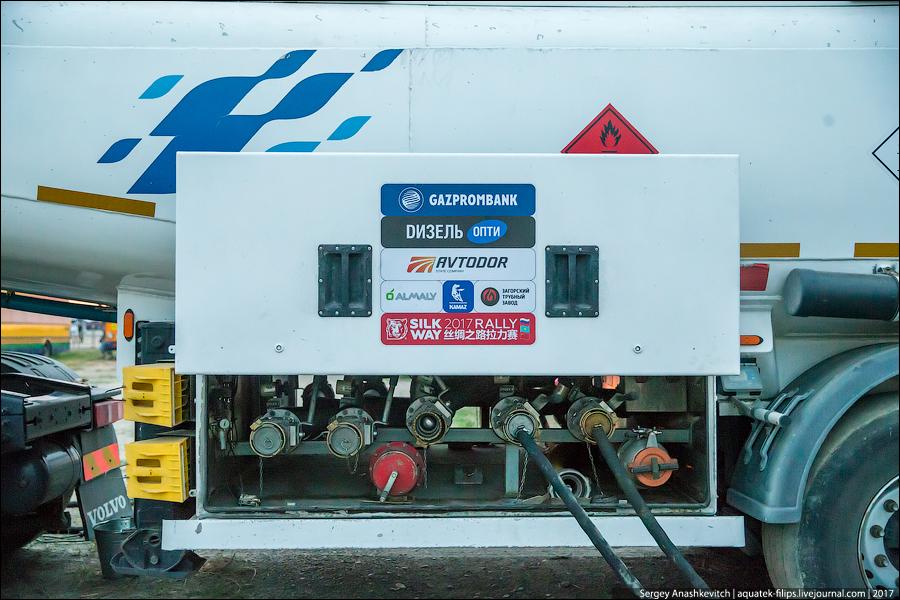 Как устроена заправка топливом на ралли-рейде