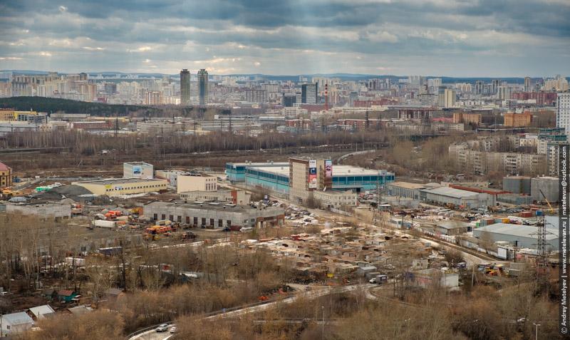 """Вид с """"Олимпа"""" на Синие город"""