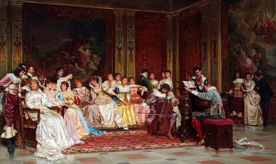 FRENCH, 1825-1879. THE CONCERT
