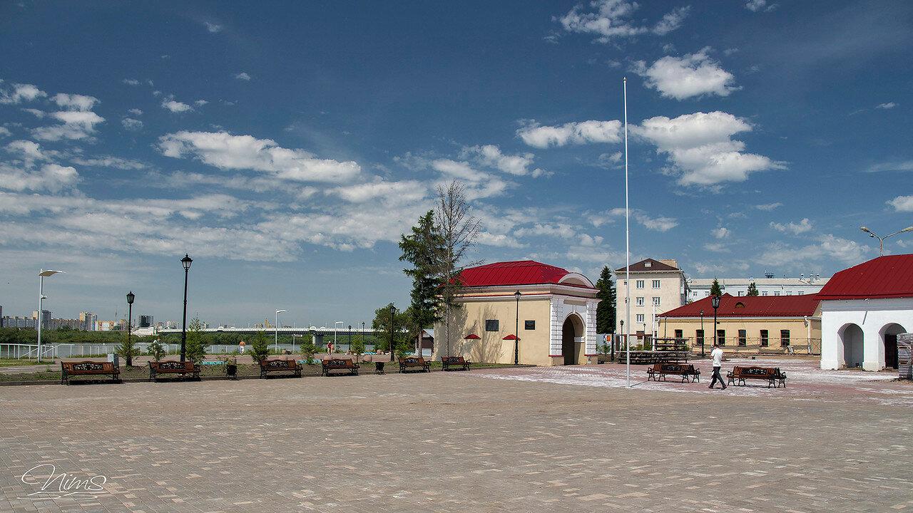 поиска омская крепость картинки вот этом снимке