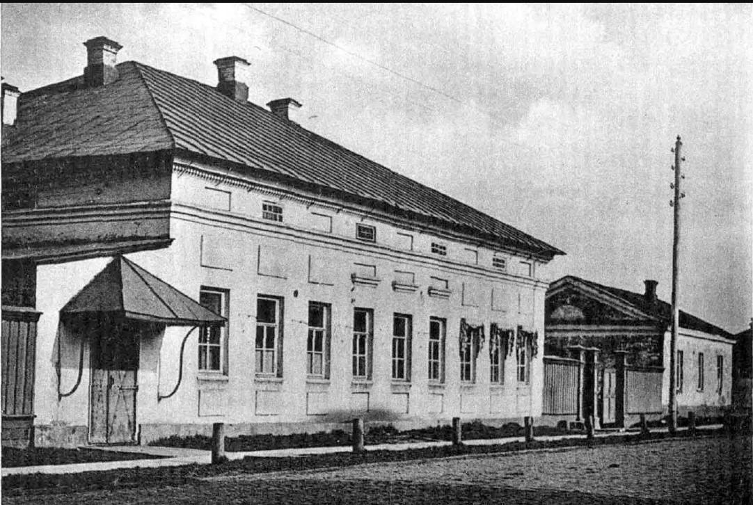 Первое помещение Вятской гимназии