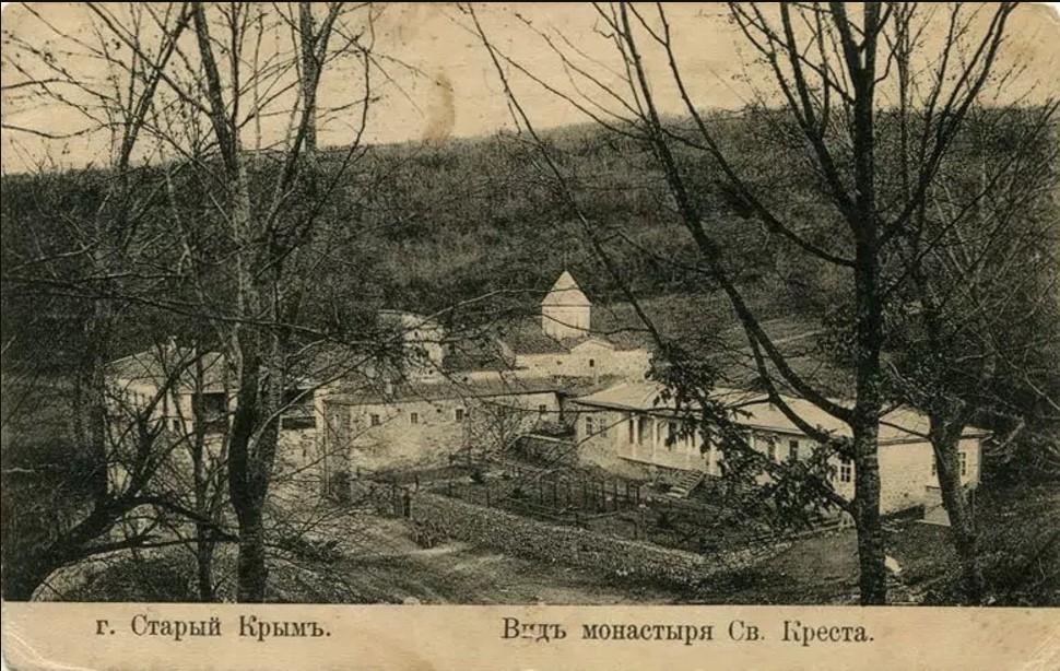 Вид монастыря Св. Креста