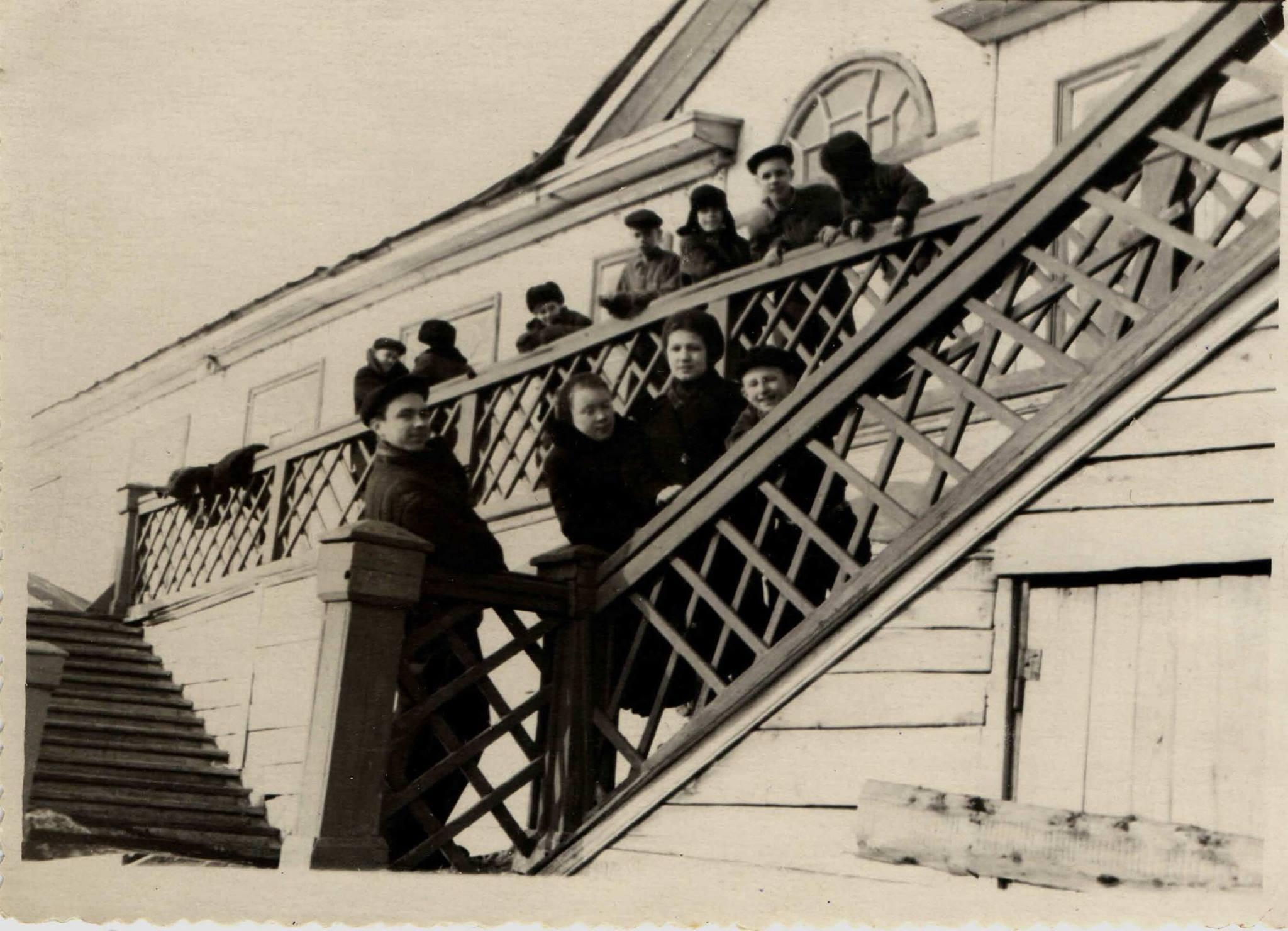 1953. Озеро Кабан, станция Спартак