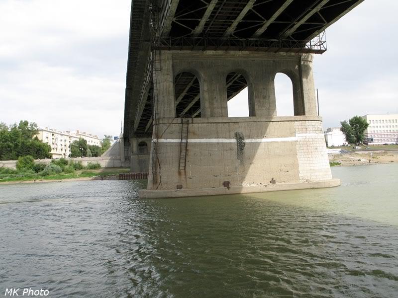 Лениградский мост через Иртыш