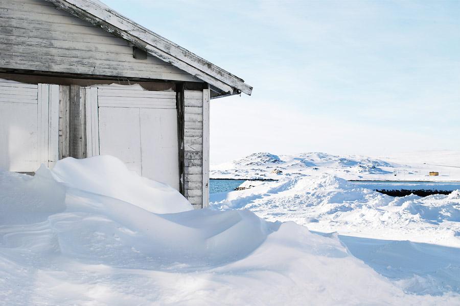 Дикие места снежной Норвегии