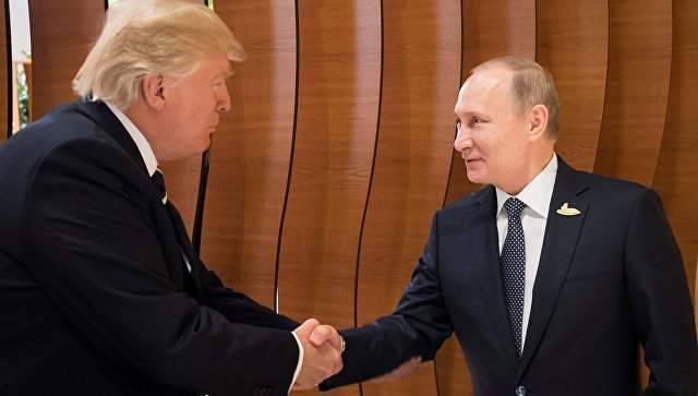 """Трамп: """"Темой второго разговора с Путиным в Гамбурге было усыновление американцами российских детей"""""""