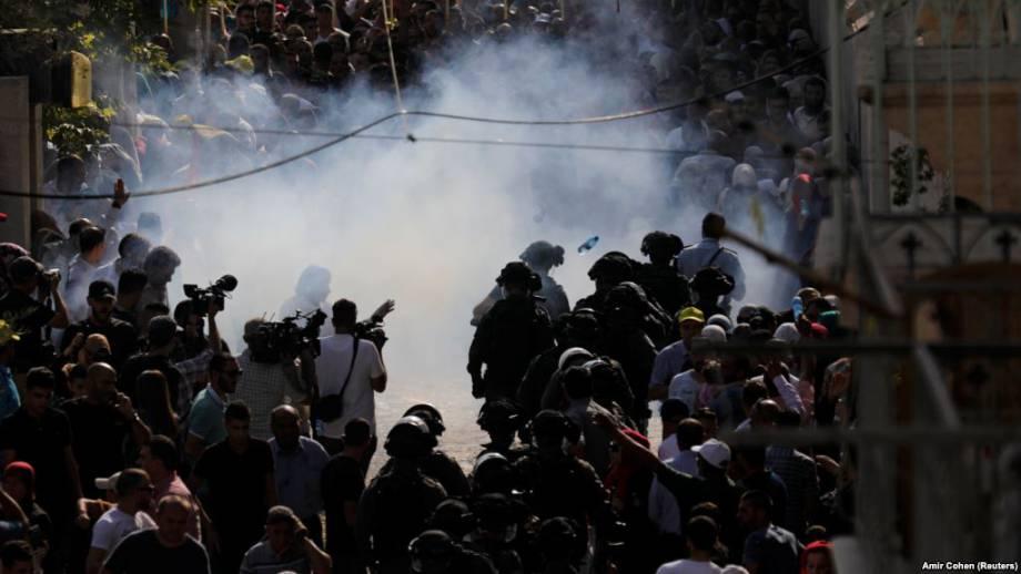Израиль вновь ограничил доступ мусульман на Храмовую гору