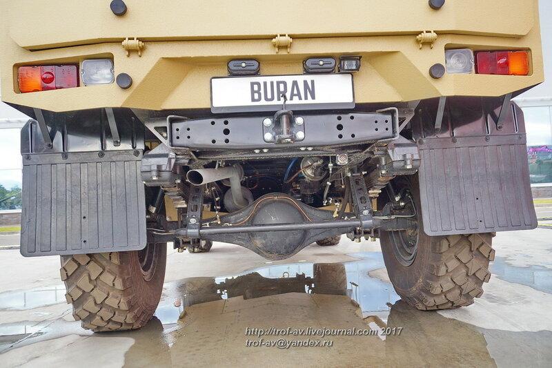 Бронеавтомобиль BURAN, форум Армия-2017