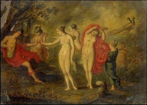 Суд Париса Cornelis van Poelenburgh