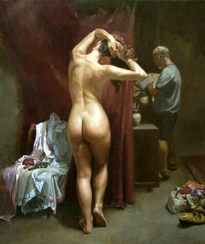 Robert Semans - The Artist's Model