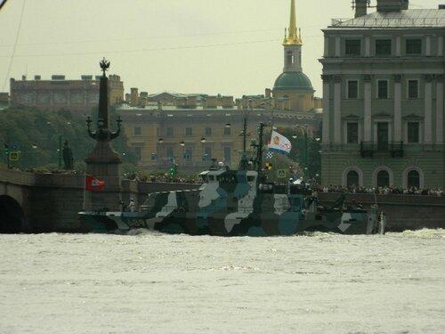 Репетиция дня ВМФ в СПб в 2017