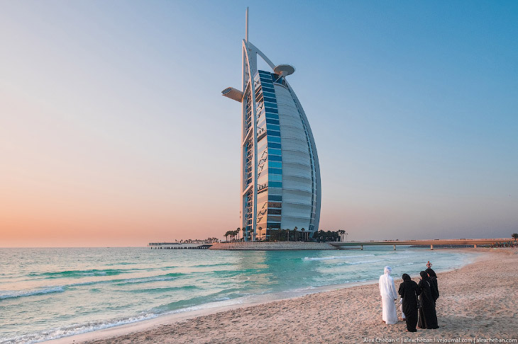 Лето в солнечном Дубае (25 фото)