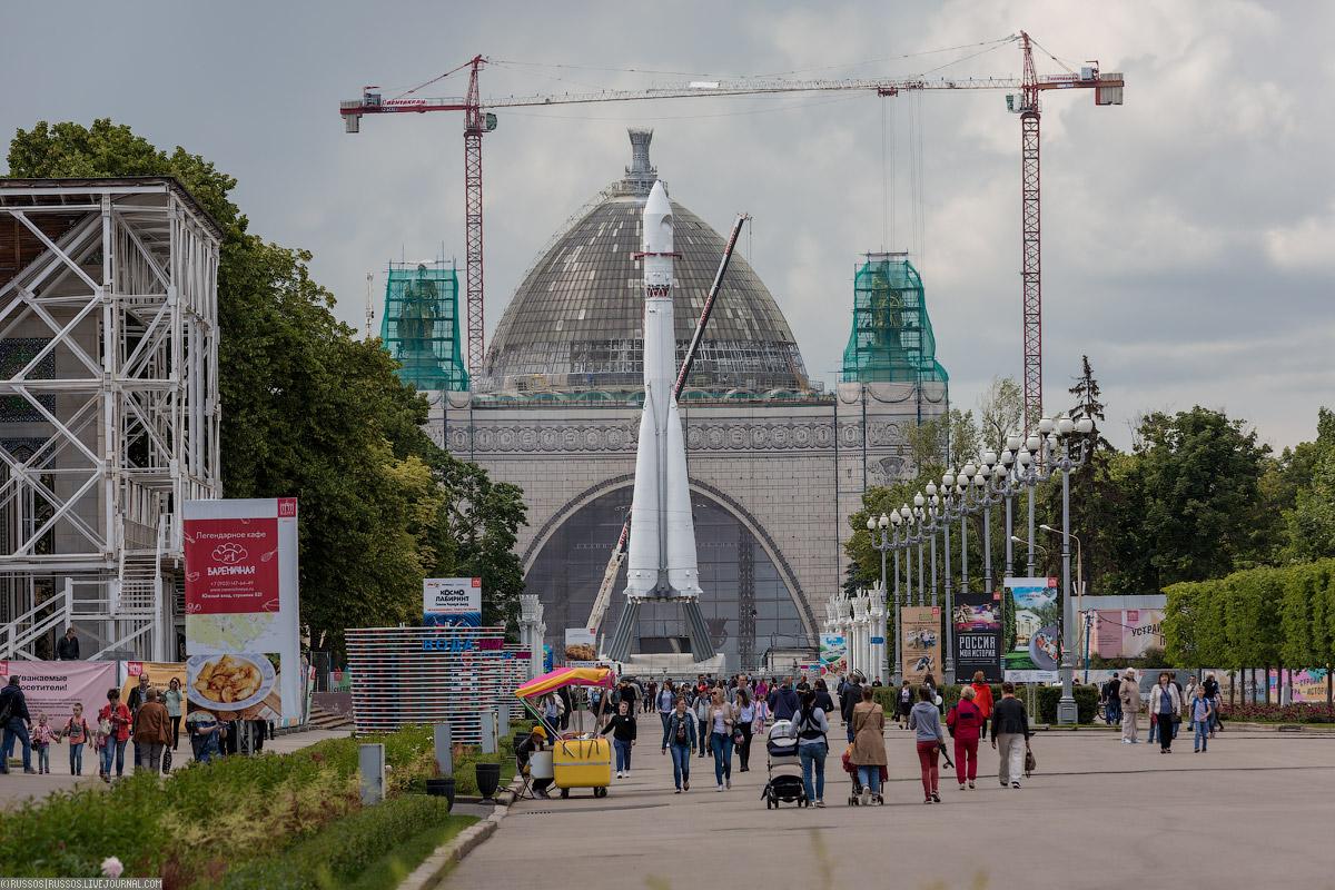 Музей космоса будет состоять из трех зон. На «Космическом бульваре» разместятся полноразмерные макет