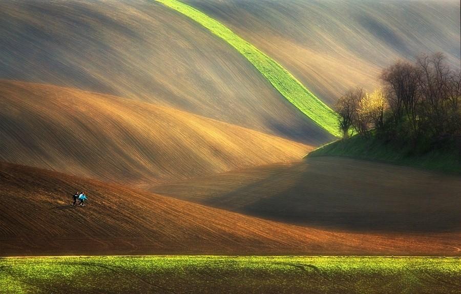 1. Моравия — один из самых живописных регионов Чешской Республики.