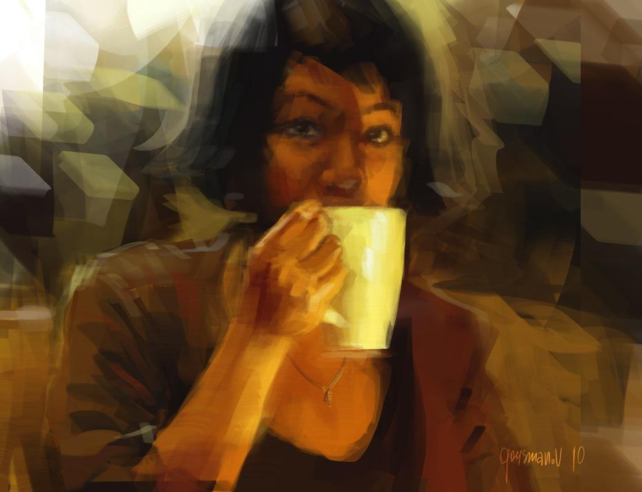 Цифровая живопись Вадима Гусманова