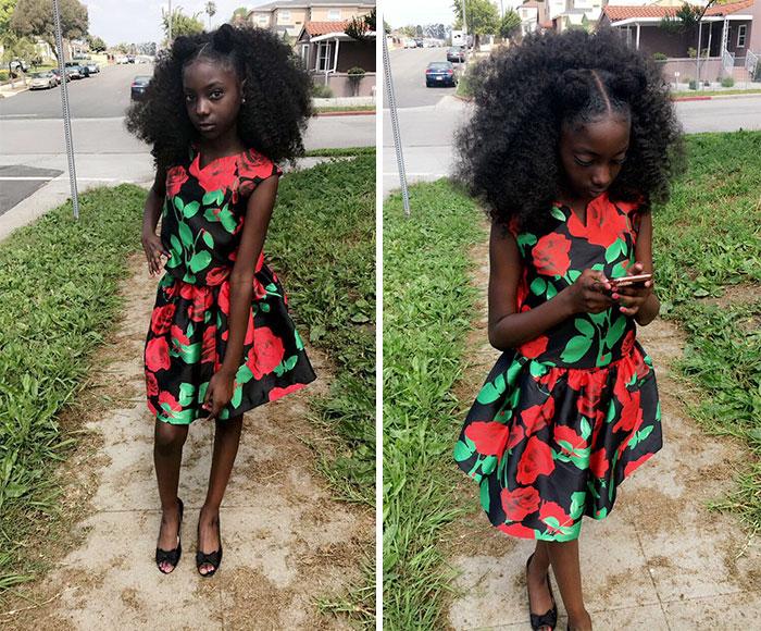 Не по годам красивая 10-летняя девочка запустила коллекцию футболок в ответ на расизм