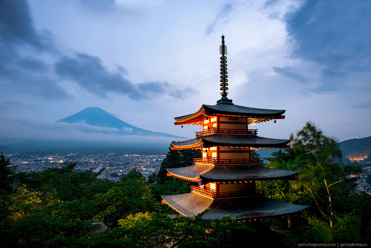 Путешествие по Японии и перелёт с Сахалина (50 фото)