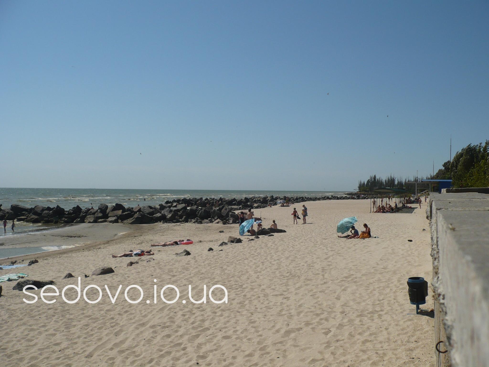 Седово пляж Металлург фотографии