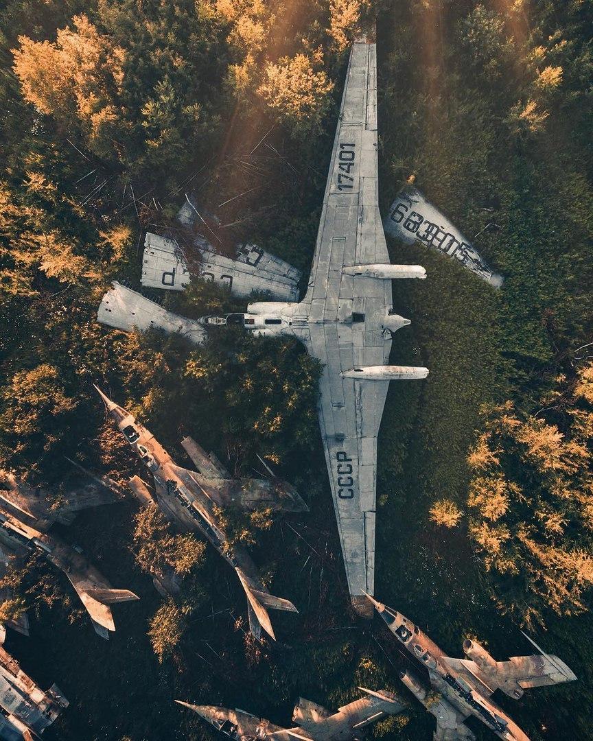 Лучшие фотографии с дронов