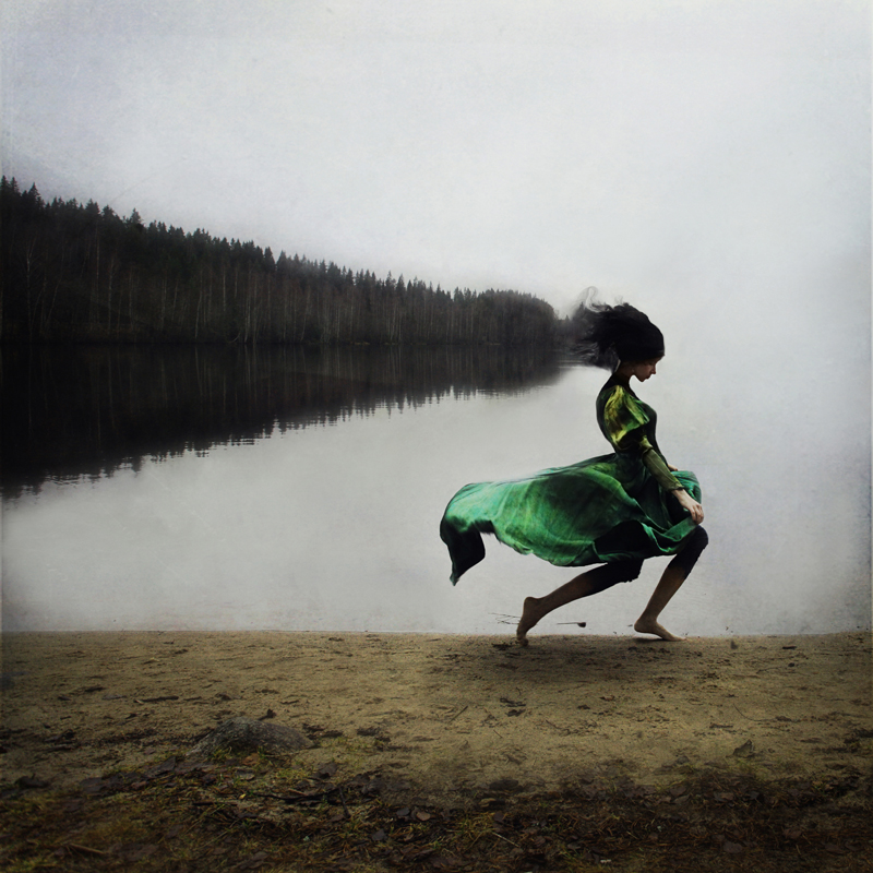 Kylli Sparre's Surreal Conceptual Photography Influenced by Dance