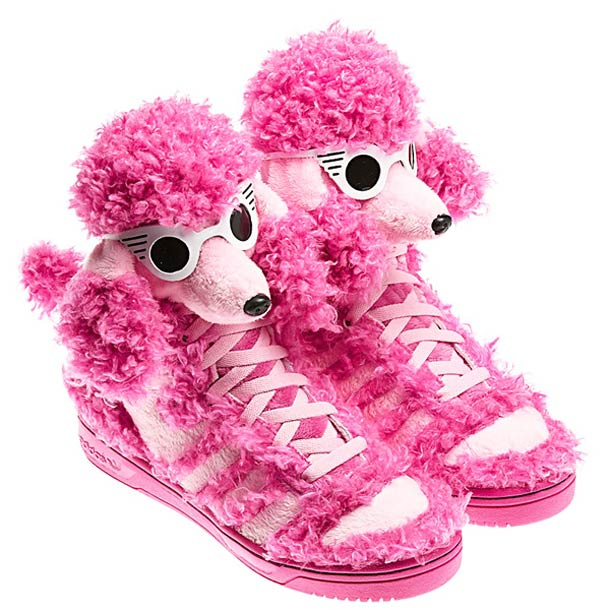 Adidas Poodle – Most WTF sneakers by Jeremy Scott (3 pics)