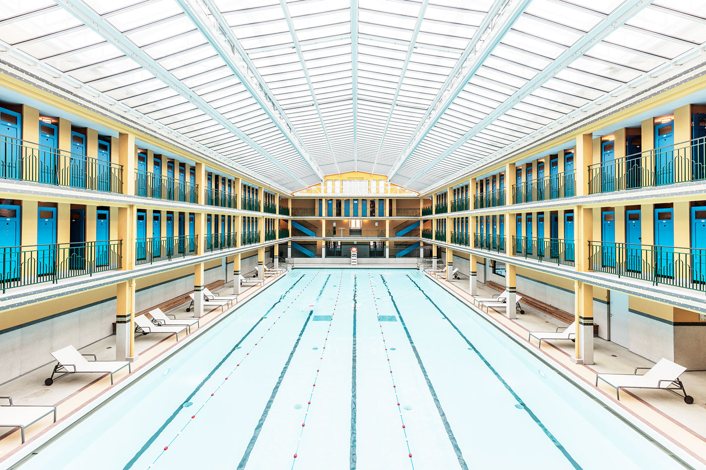 Beautiful Parisian Swimming Pools