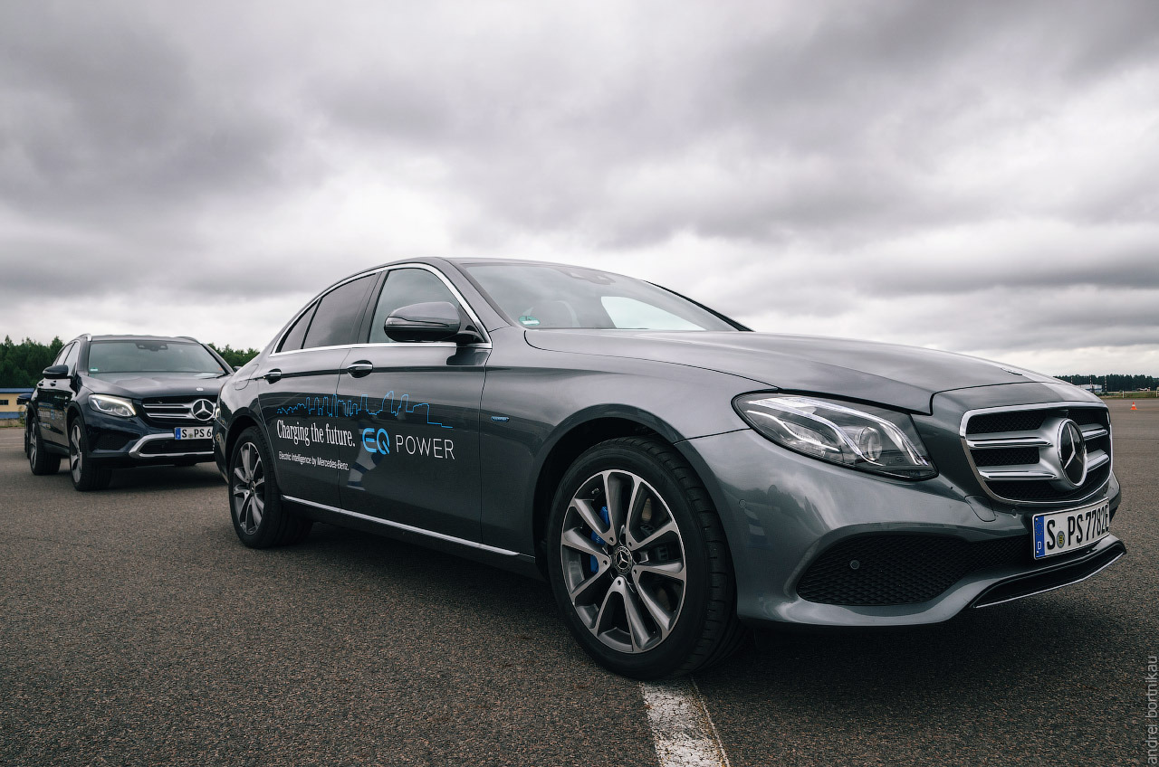 Star Experience 2017. Минск. Mercedes. Plug-in Hybrid EQ. E350e