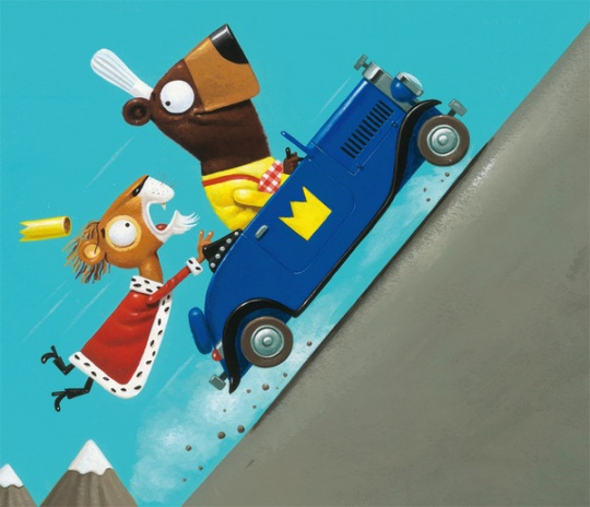 Beautiful Children Illustrations by Leo Timmers