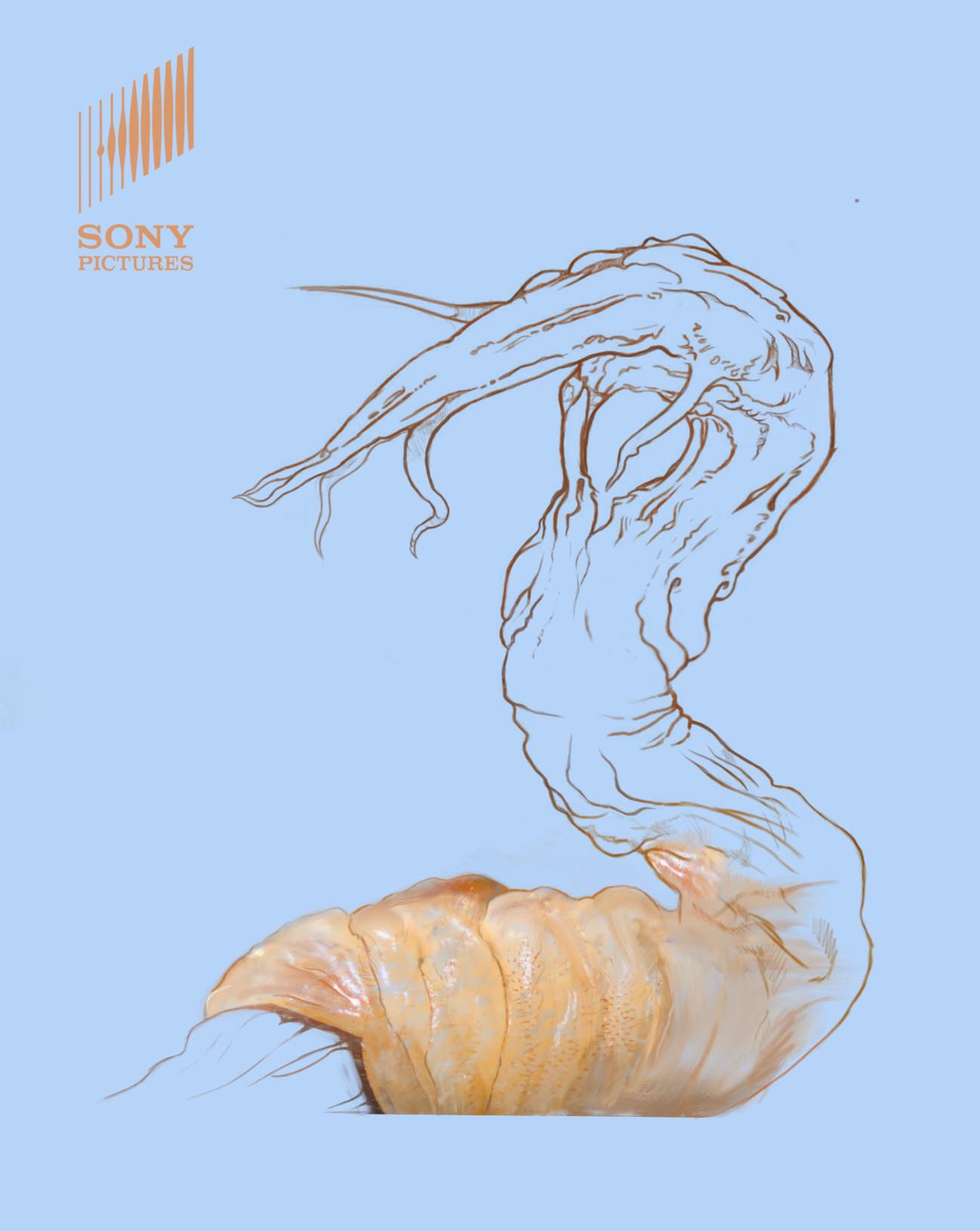 Life (2017) Creature Concept Art by Daniel Tiller