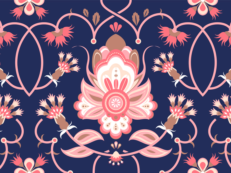Need Some Floral Pattern Design Inspiration? We got your back! (24 pics)