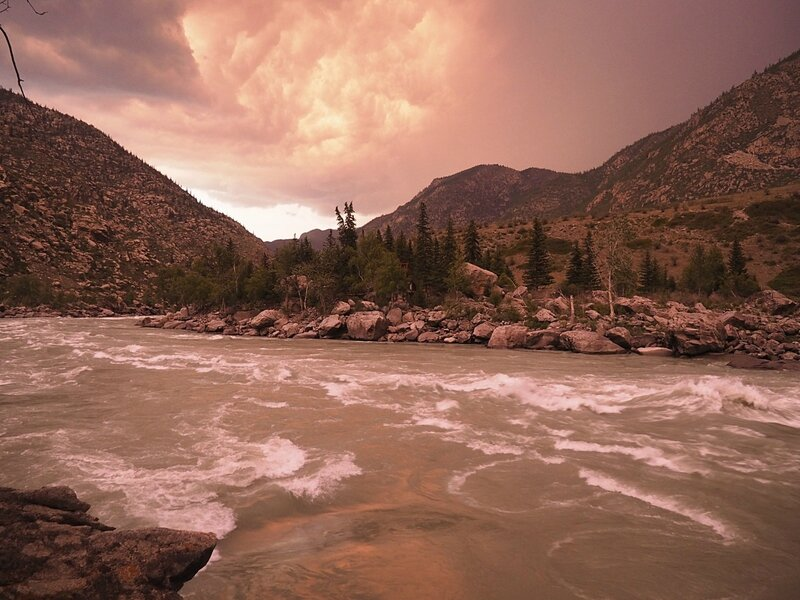 Горный Алтай – Ильгуменский порог (Altai Mountains - Ilgumenskiy rapids)