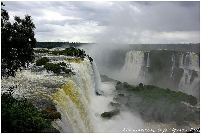 Игуасу. Бразильская сторона. Часть 2