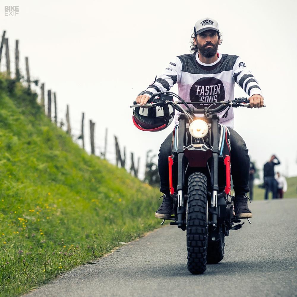 Maria Motorcycles: скрэмблер Yamaha XSR700