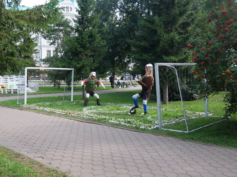 Омск - Футболисты