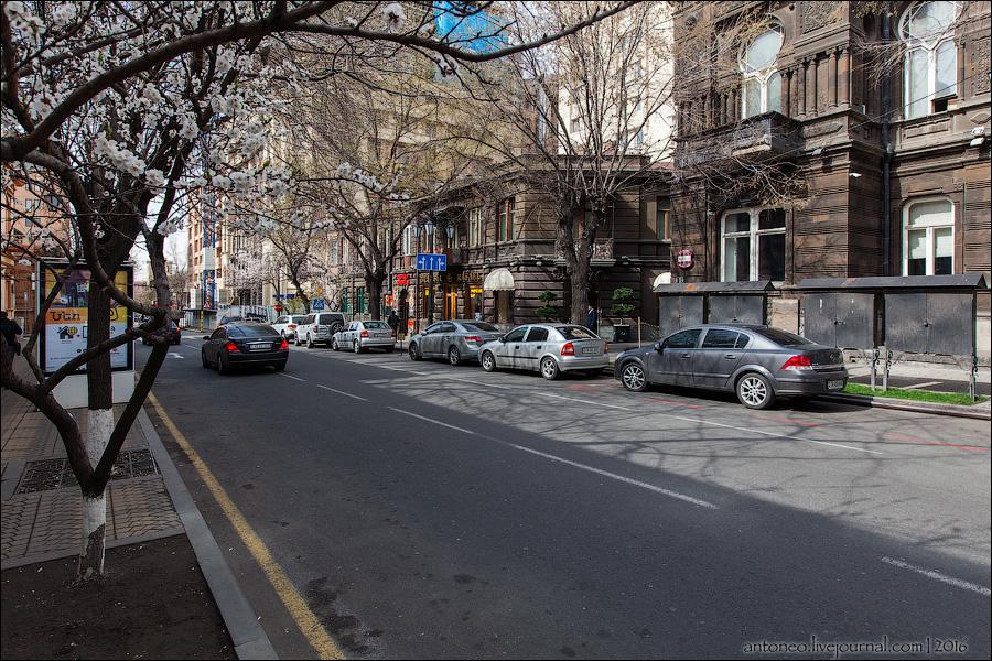Весенний солнечный Ереван.