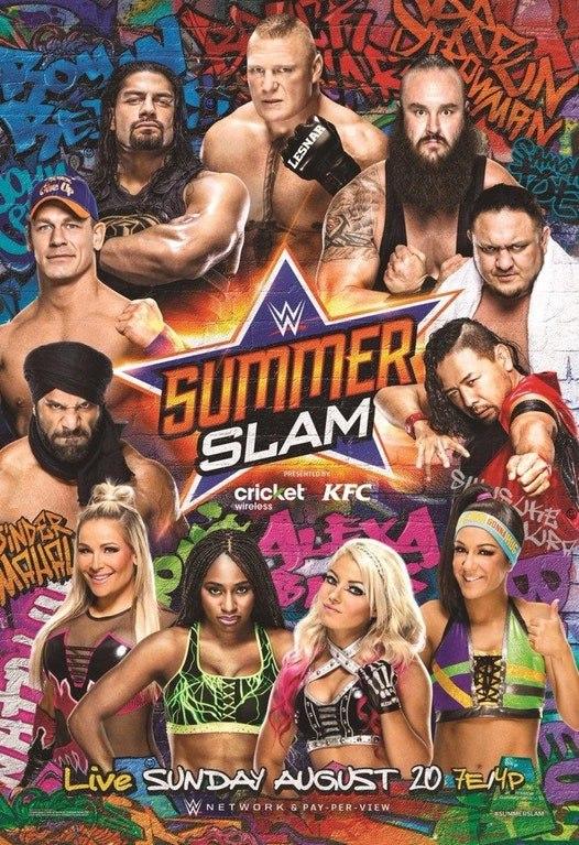 Post image of WWE Summerslam 2017