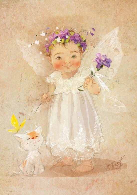 Екатерина Бабок. Прекрасное детство.