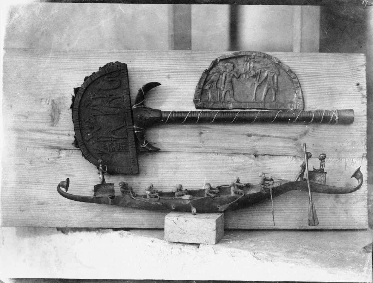 Курна. Вещи из гробницы царицы Яххотеп