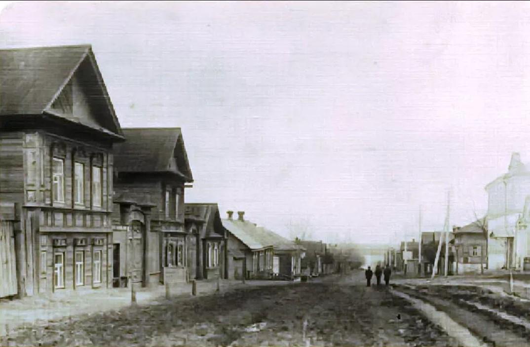Перекресток улиц Благовещенской и Амурской