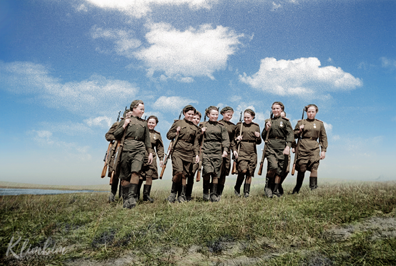 Женщины снайперы. 2-й Белорусский фронт