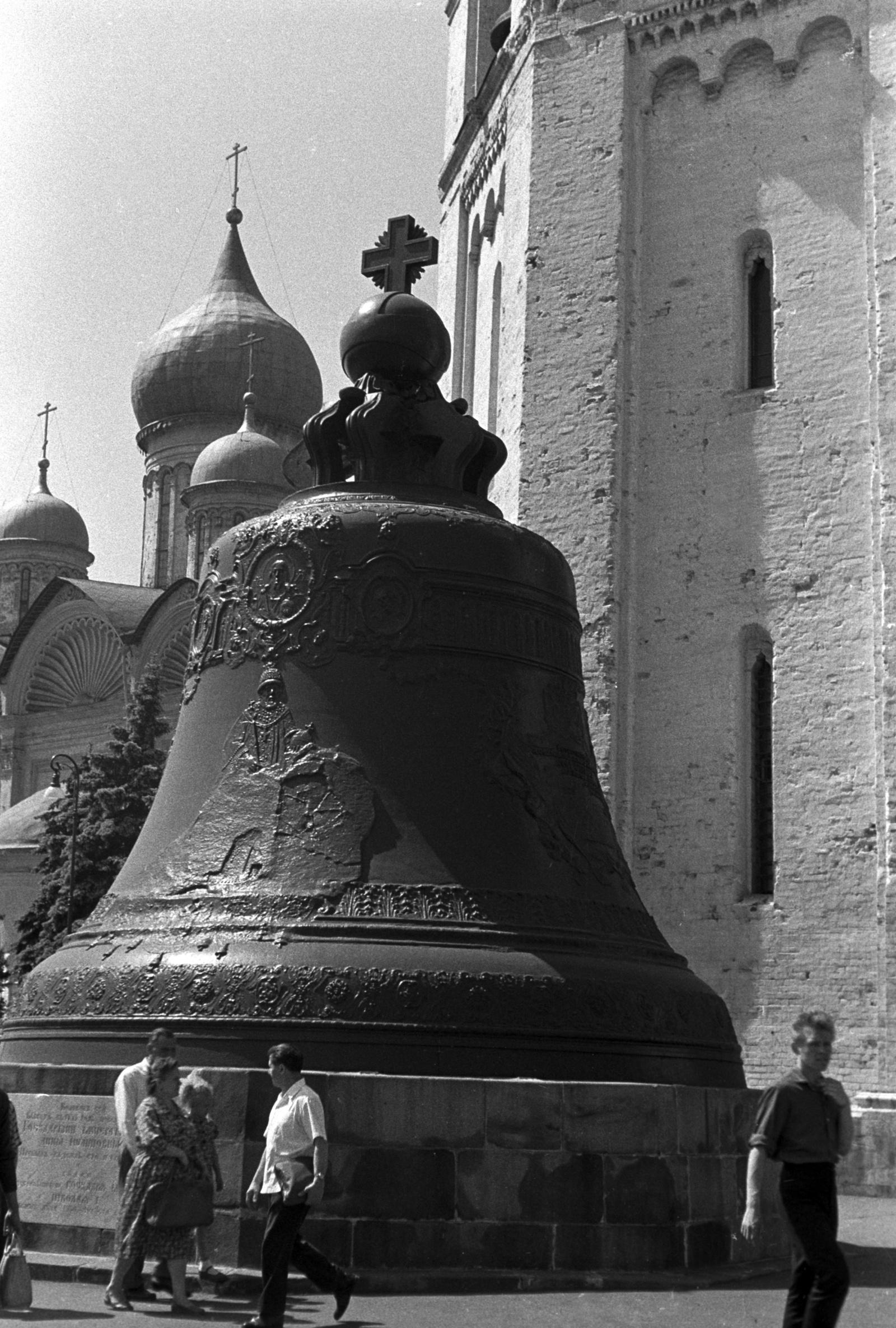 Царь-колокол в Московском Кремле