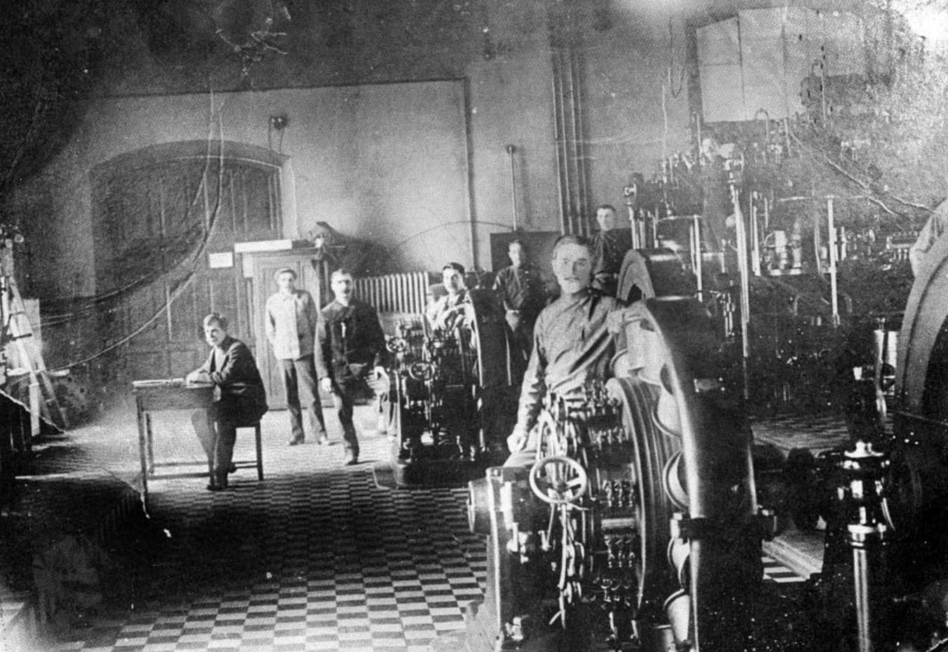 Первая электростанция завода, 1915
