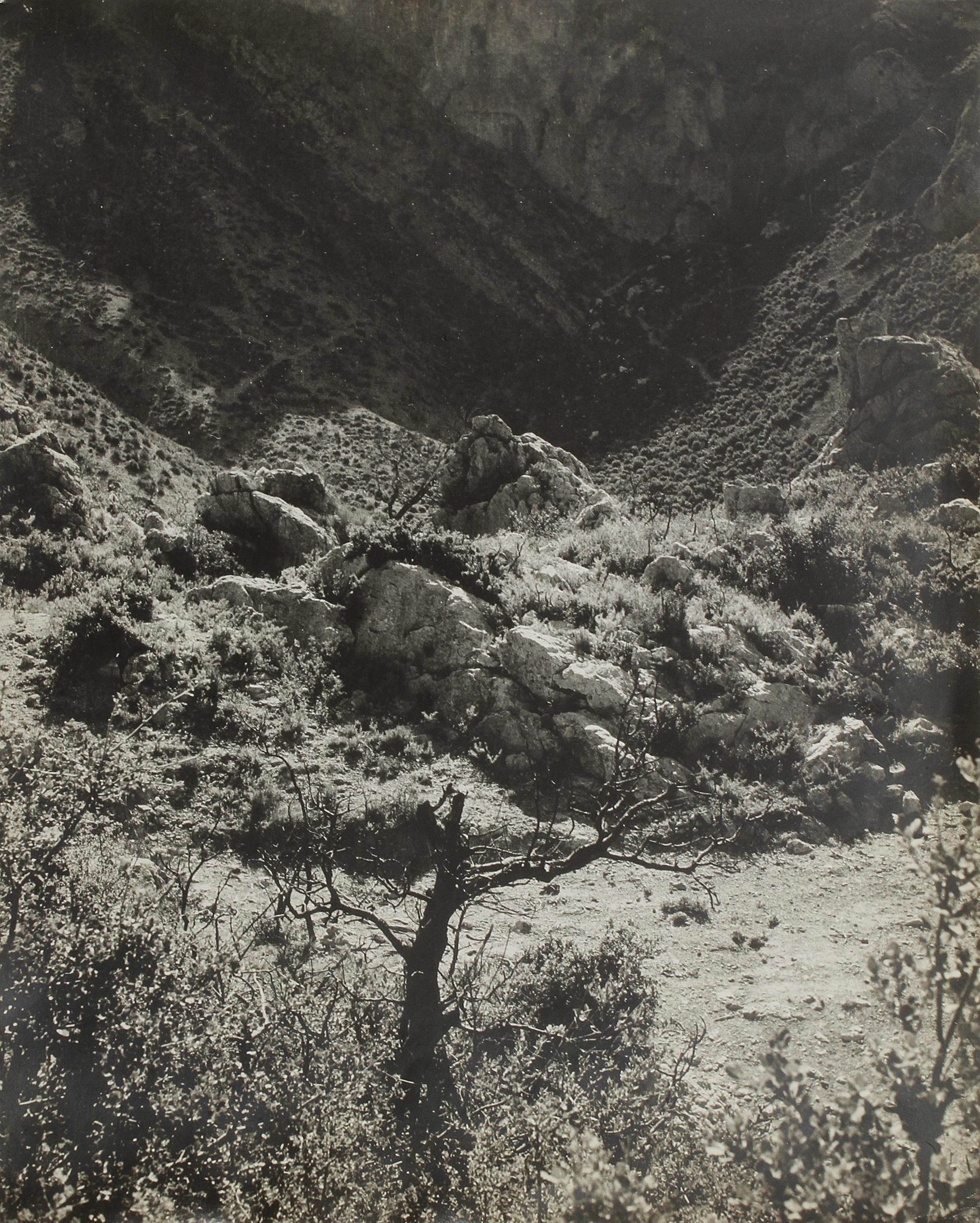 1947. Ущелье Сент-Бом