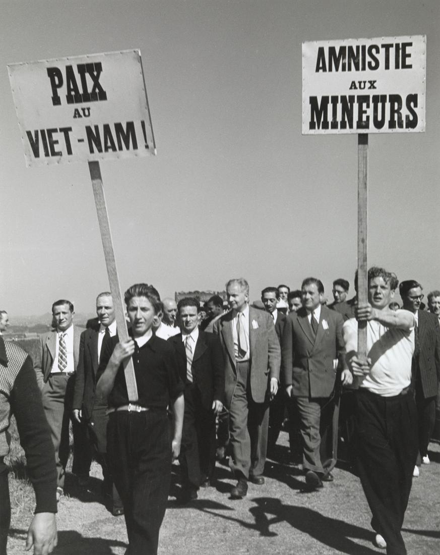 1949. Демонстрация протеста в Вими