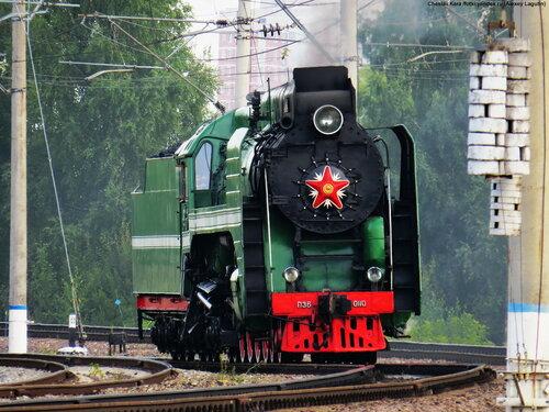 паровоз П36-0110 _80
