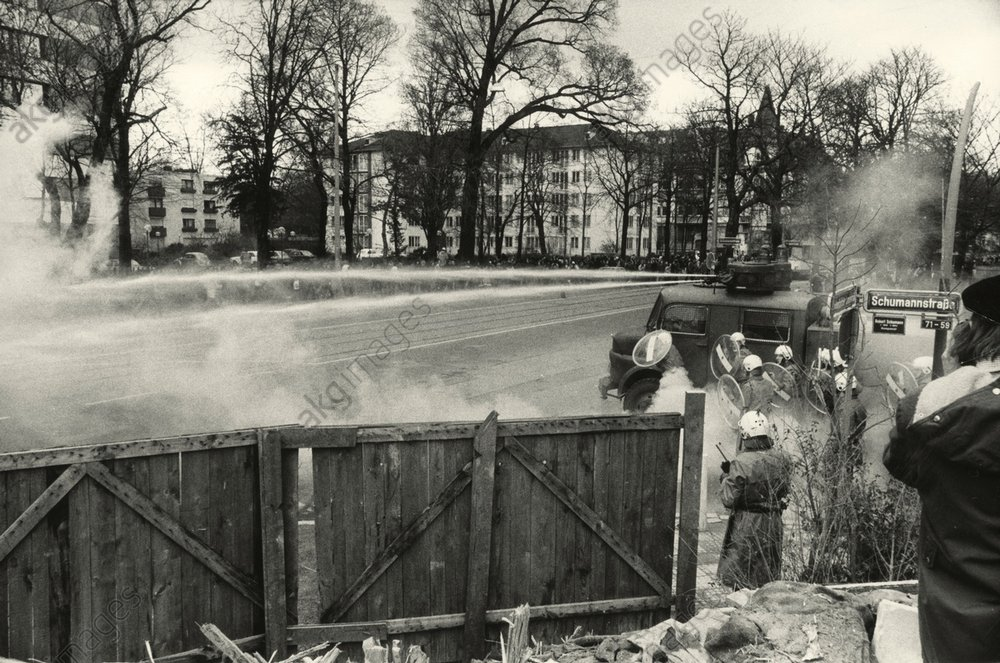 Studentenunruhen/Frankfurt/M., Febr.1974 -  -