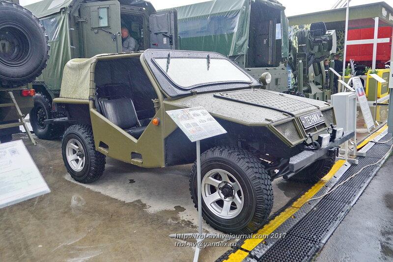 Высокомобильное транспортное средство Охотник, форум Армия-2017