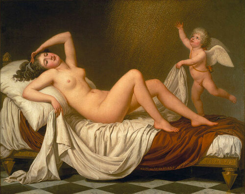 Adolf Ulrich Wertmuller Danae And The Shower Of Gold