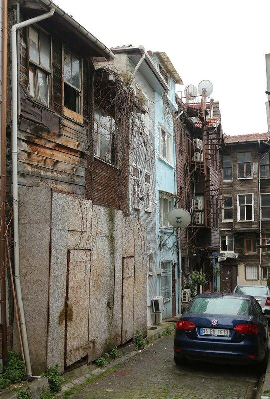 Istanbul.  Akbıyık Değirmeni Sokak Street